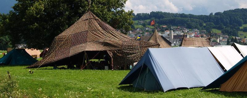 Pfadfinder Zelte