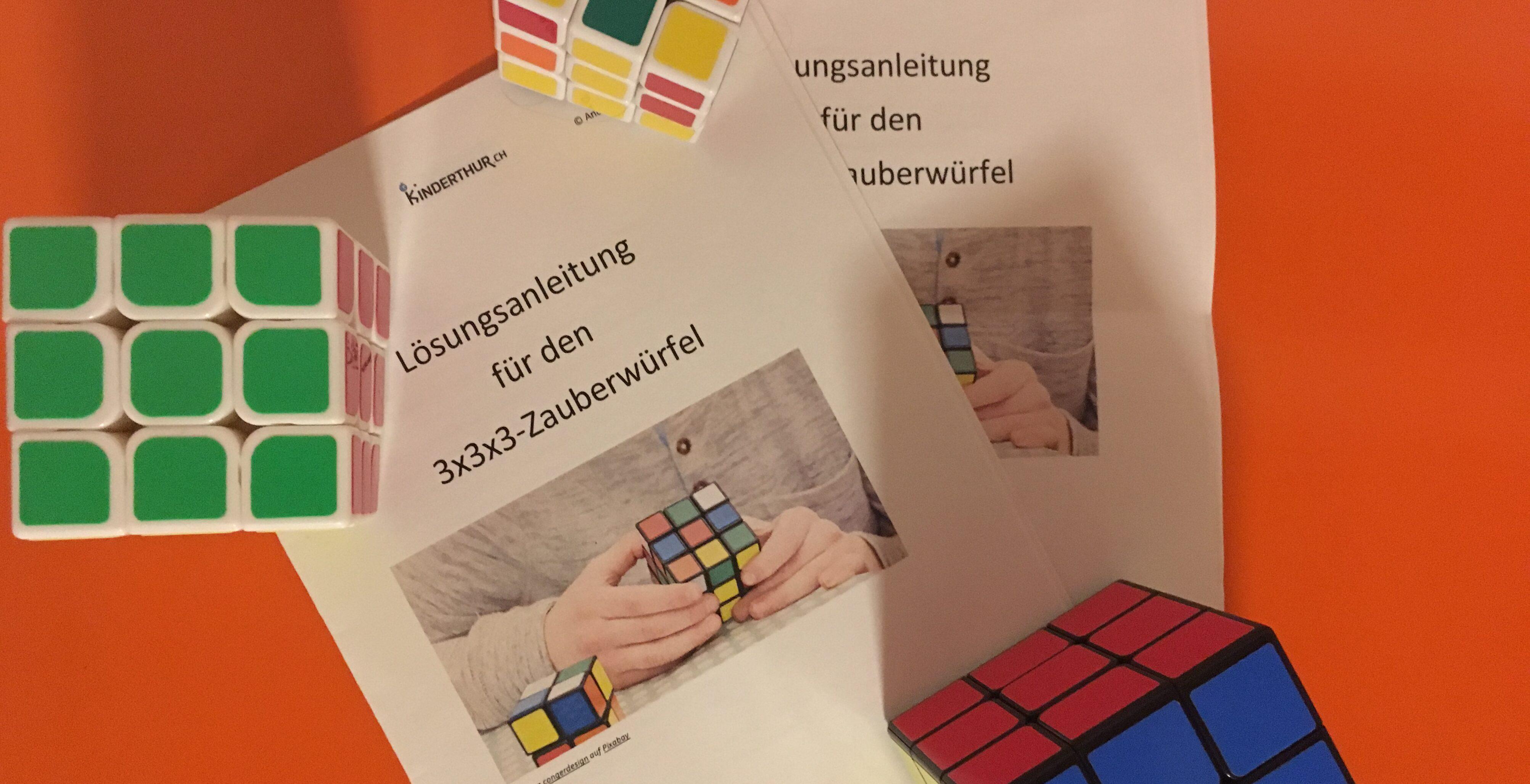 Faszination Zauberwürfel: «Jeder kann den Rubik's Cube lösen!»