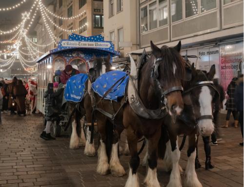 Kein Rösslitram, Adventsbus, Weihnachtsmarkt und Samichlaus